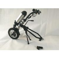 Quality Stainless Frame Electric Wheelchair Conversion Kit With 36V 250W Hub Motor for sale