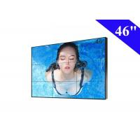 Quality 3X3 Video Wall Black Frame TV LCD Display HDMI Input 178° Visual Angle for sale