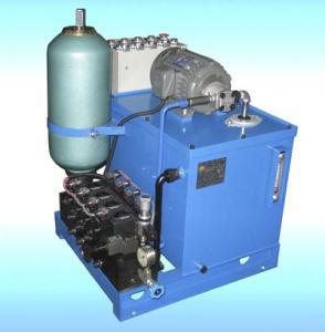 Buy cheap JLF 12v hydraulic power pack unit Motor , Pump ,Tank , Centermanifold Block product