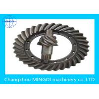 Quality Sandblasting Crown Wheel Gear Precision 1- 9 Stage / Crownwheel And Pinion for sale
