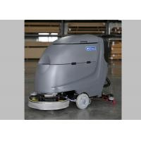 Buy cheap 20 Inch Brush Walk Behind Floor Scrubber Floor Washers Scrubbers With Deep Gray Body from wholesalers