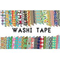 Quality Adhesive Scotch Tape Label Waterproof Masking Printed Washi Paper for sale