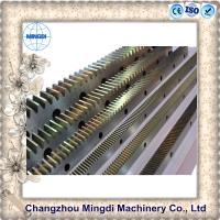 Quality Customized Steel Ring And Pinion Gear Spur Shape 10-100mm Thickness for sale