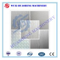 Buy cheap Art Embooment Texture Stainless Steel Press Plates S S.304 / S S.410 from wholesalers