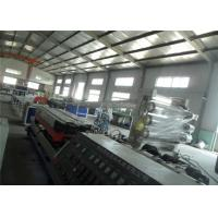 Buy cheap 75-110Mm Single Screw Plastic Extrusion Machine , Corrugated Pipe Production Line product