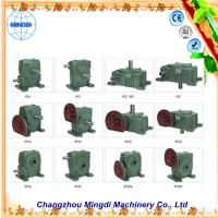 Quality Flange mounted WPA/WP 33kw Cast Ironl Worm Industrial Gearbox with Electric Motors for sale