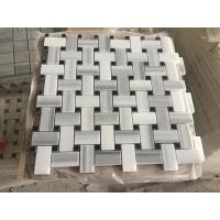 Quality High Quality Marmara Equator White Marble Hexagon Stone Mosaic Tile/stone mosaic for sale