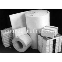 China Boiler doors Ceramic blanket insulation fireproof For pipe coverings on sale