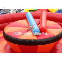 Buy cheap EN14960 Inflatable Gladiator Joust Arena Interesting Jousting Game product
