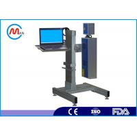 Buy cheap Economic 10W Portable Fiber Laser Marking Machine For Metal 1 Year Guarantee product