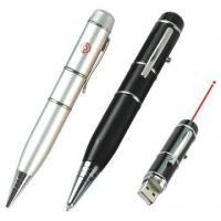 Buy cheap Cheapest Promotional 128MB, 256MB, 512MB usb laser pointer pen printed logo product