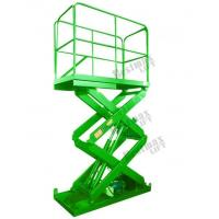 Quality Fixed Cargo Lift Table Hydraulic Scissor Lift Platform 2000Kg Loading Capacity for sale
