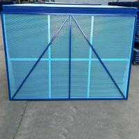 Quality Movable Perimeter Safety Screen, Scaffold Self-Climbing Safety Perforated Screen for sale