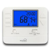 Quality Wire Programmable Digital Room HVAC Thermostat Single Stage Omron Relay for sale