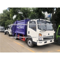 Buy cheap HOWO 5cbm Compactor Garbage Truck Compressed Waste Treatment Truck from wholesalers