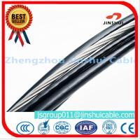 Quality IEC 60502 Aluminum Aerial Cable , High Voltage Pe Insulated Cable Messenger Wire for sale