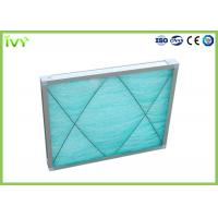 China G3 Fiberglass Spray Booth Air Filters , Air Purifier Filters Large Ventilation Quantity on sale