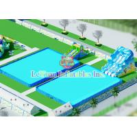 Stainless Steel Custom Swimming Pools Tough Fireproof For Hot Summer