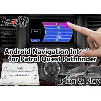 Quality GPS Navigation Android Auto Interface Support Voice Activation For Nissan for sale