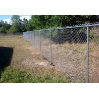 Buy cheap Height 1.5m 1.8m 2.0m 2.4m Chain Link Fence With Black And Green Colors from wholesalers