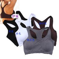 Quality Black Elastic Customized Anti-Static Shock Absorber Padded OEM Front Closure Sports Bra for sale