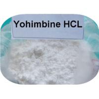 Buy cheap Pharmaceutical Material Sex Steroid Hormone , CAS 65-19-0  Yohimbine HCL Weight Loss product