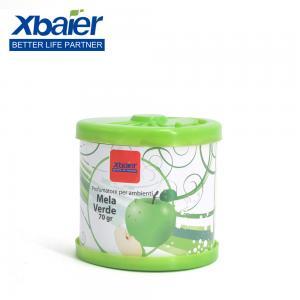 Quality 50g/80g/110g/150g Garden Eco-Friendly Tin Can Gel Air Freshener Odor Eliminator for sale