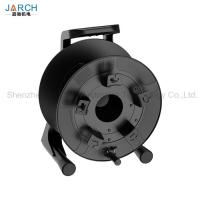 Quality Unbreakable Retractable Electric Cord Reel Robust PC Material With Integrated Handle for sale