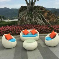 Quality China manufacture outdoor garden furnitures indoor rattan chair sets for sale
