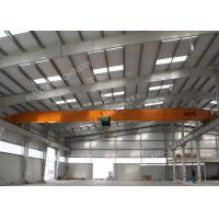 Buy cheap 10T Single Girder Overhead Cranes For Factories / Material Stocks / Workshop product