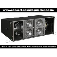 Buy cheap Dual 12 Inch 1400W Line Array Speaker With Neodymium Drivers For Concert , Living Event product