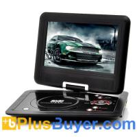 Quality 10 Inch Swivel Screen Portable DVD player (Hitachi 120x Lens, 1024*600, 16:9) for sale