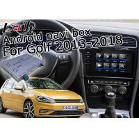 Quality Multi Languages Android Navigation Box MCU Upgrade For Volkswagen Golf Mark7 for sale