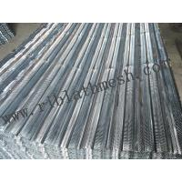 Quality V Type Expanded Metal Lath , Civil Building Metal Rib Lath Height 6-10mm for sale