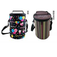 Quality Color Printing Thermal Lunch Bag Computer Knitting Technics Easy Cleaning for sale