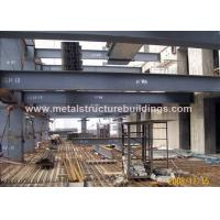 Quality Commercial Steel Frame Structure , Pre Engineered Mezzanine For Workshop for sale