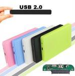 Buy cheap USB 2.0 External Hard Disk Case Slim Portable 2.5 HDD Enclosure SATA Hard Disk Drives HDD Case Plug And Play product