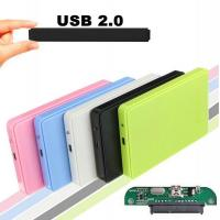 Buy USB 2.0 External Hard Disk Case Slim Portable 2.5 HDD Enclosure SATA Hard Disk Drives HDD Case Plug And Play at wholesale prices
