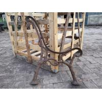 Quality Custom Outside Wrought Cast Iron Bench Ends / Cast Iron Garden Furniture for sale