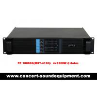 Quality 4x1300W Disco Sound Equipment FP 10000Q Light Weight Class TD Amplifier For Concert And Nightclub for sale