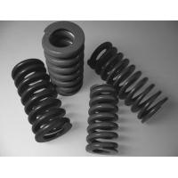 Quality Black Cylindrical Spiral Heavy Duty Compression Springs With 40mm Outside Diameter for sale