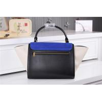 Quality Wholesale 2014 New designer fashionable womens 6608 f-errari cowhide leather black handbag for sale