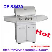 China Professional Gas BBQ Grill / China Wholesale Stainless Steel 4 Burner Gas Grill on sale
