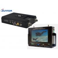 Quality 300-860MHz Professional Wireless Video Transmitter And Receiver For Military / Industrial for sale