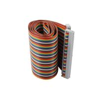 China 64 Pin F/F IDC Flat Ribbon Cable 64 Way Wire 2.54mm Pitch For Electrical Industry on sale