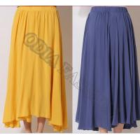 Quality Summer Nifty Lovely Womens Wool Skirts Long Solid , Anti Wrinkle for sale