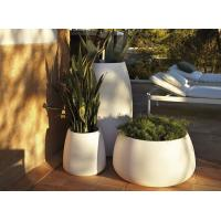 Quality OEM contemporary Plastic polyethylene planter for public areas for sale