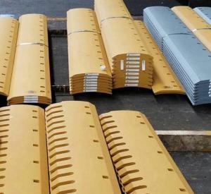 China CAT 140 K Grader blades,cutting edges 8J9821,5D9558,4T3007,5D9559, WEAR STEEL 19MM on sale