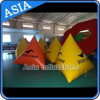 China Floating Striking Marker Inflatable Buoy  For Water Triathlons Advertising on sale
