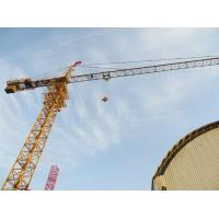 8t Mobile Tower Cranes With Fixing Angles / Self Erecting Building Construction Cranes